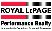 RoyalLePage Performance Realty,Brokerage*